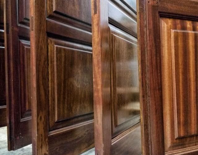 συντηρηση ξυλινες πορτες